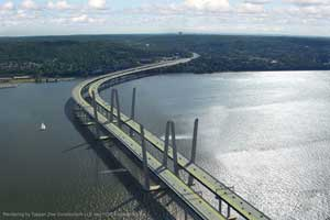 New Tappan Zee Bridge.