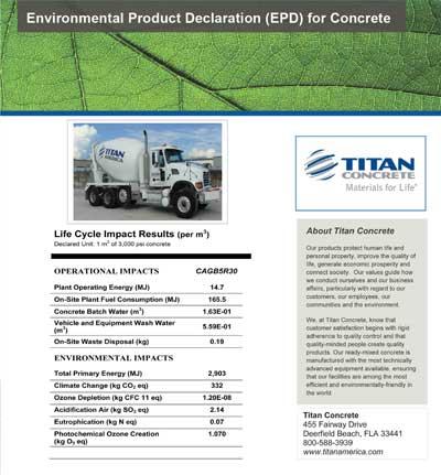 Titan Concrete EPD