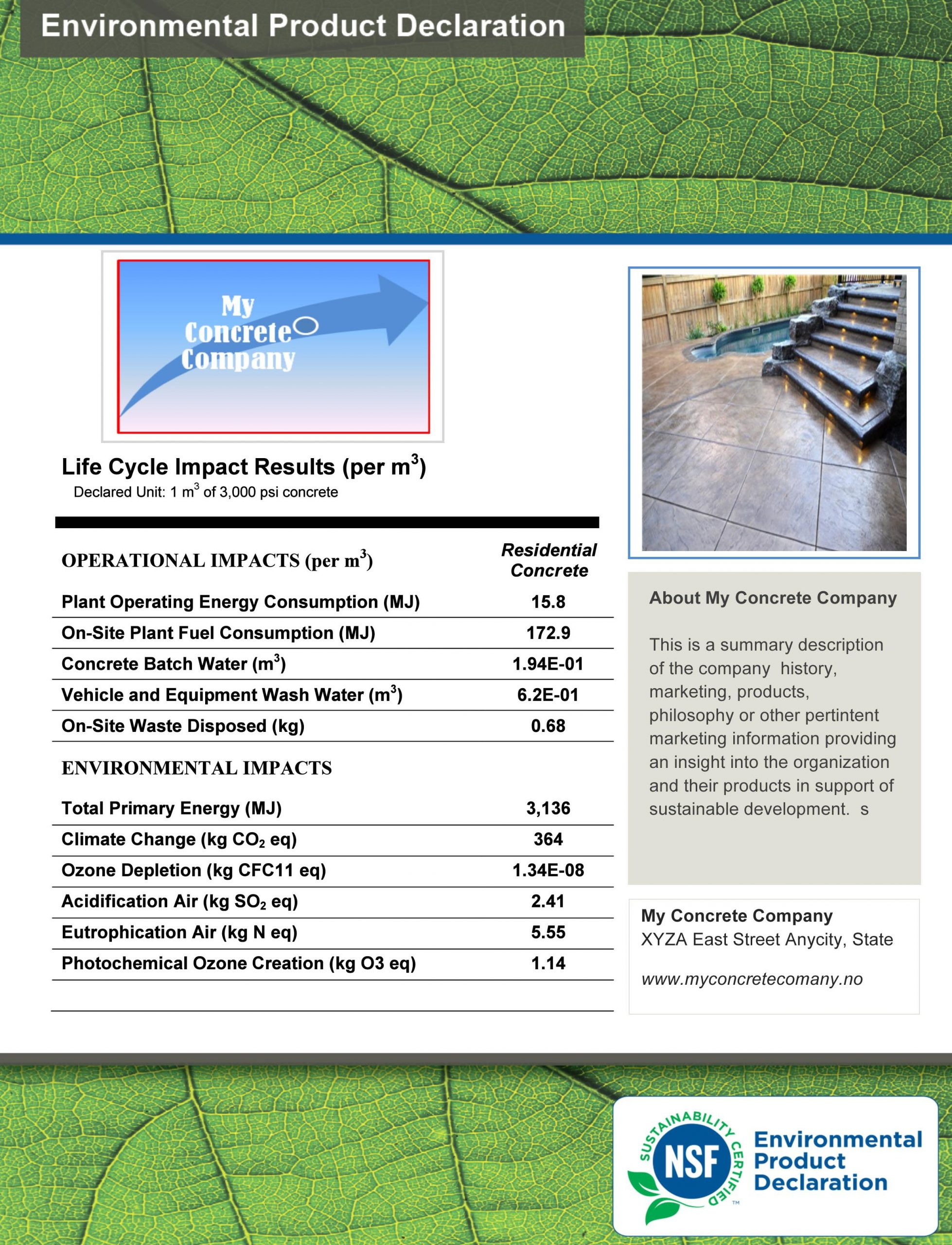 BASF DEBUTS CONCRETE MIXTURE EPD DEVELOPMENT SERVICE
