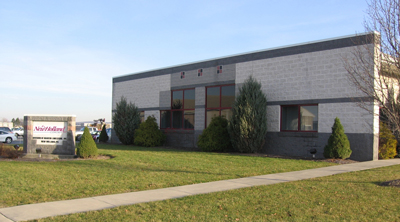 New Holland Concrete headquarters, shown here in 2012.