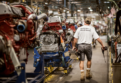 MACUNGIE (PA.) ASSEMBLY LINE