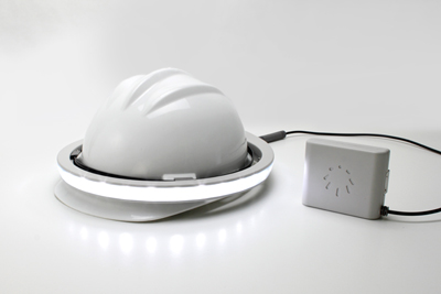 Hat-mounted light