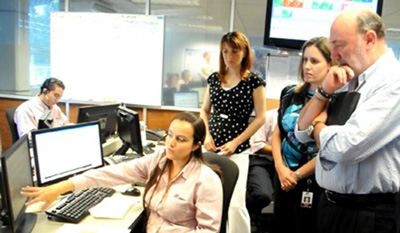 Cemex IT staff integrated the company's enterprise platform to link RMS with individual plant production systems.