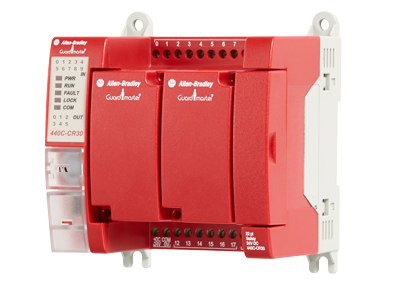Rockwell Automation FLEXIBLE RELAY SOLUTION SIMPLIFIES SAFETY IMPLEMENTATION