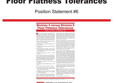 Bricklayers Union, flooring groups recognize Concrete Contractors' slab quality guideline