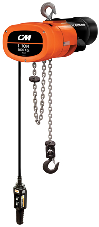 Columbus McKinnon Electric chain hoist
