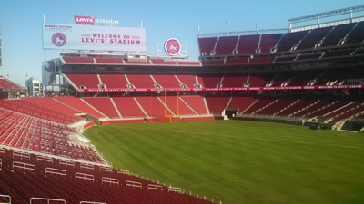 The San Francisco 49ers are kicking off the 2014-15 NFL season at a new sustainable stadium thanks in part to West Sacramento-based Clark Pacific as well as Central Concrete Supply Co., a subsidiary of U.S. Concrete. Levi's Stadium, located in Santa Clara, Calif., is the first LEED Gold certified NFL stadium.