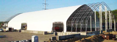 ClearSpan, Gable style, Hercules truss arch buildings