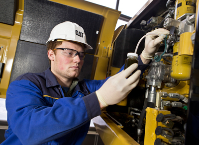 Caterpillar has built a portfolio of tiered service offerings to help manage equipment assets and lower operating costs, whether the customer performs maintenance tasks or Cat dealer handles the details.