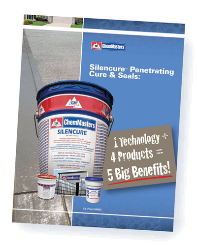 Silencure Penetrating Silane/Siloxane Fortified Cure and Seal products.