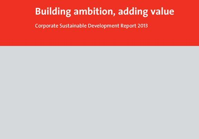 Holcim Group's 2013 Corporate Sustainability Report
