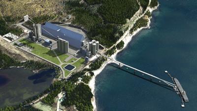 McInnis Cement Port-Daniel-Gascons operation