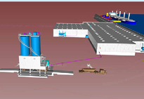 The terminal encompasses an existing ProvPort warehouse, which McInnis Cement aims to transform into a world-class receiving and storing facility. The company will also build a modern rail and truck station to load up to 100 tankers and 10 railcars daily.