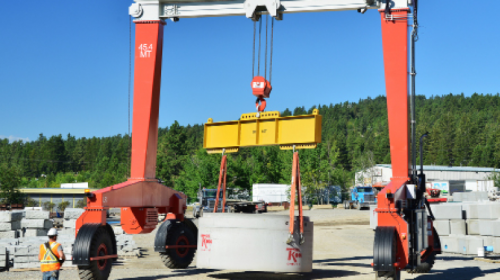 Tri-Kon has experienced an increase in efficiency and product output with the Single Beam gantry, while saving on crane rental costs.