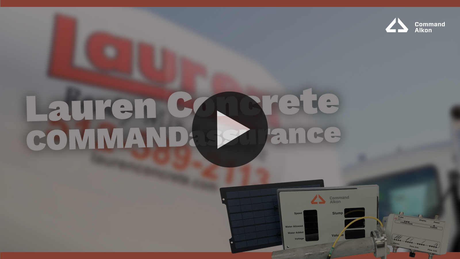 See Command Alkon COMMANDassurance Video